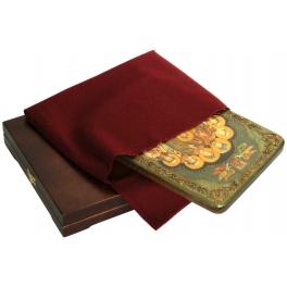 Икона «Святые царственные страстотерпцы», в деревянной шкатулке