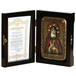 Икона «Преподобный Илия Муромец, Печерский» в шкатулке