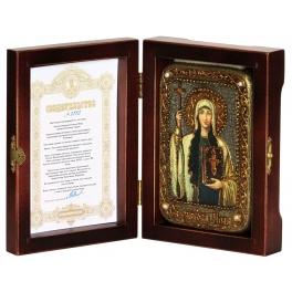 Икона «Святая Равноапостольная Нина, просветительница Грузии» подарочная