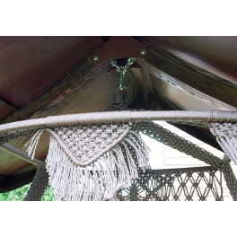 Деревянный каркас с крышей «КАРАВЕЛЛА» (для качелей SEARA)