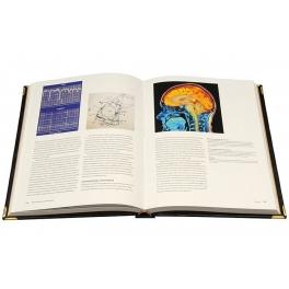 Кожаная книга «Великие открытия в медицине»
