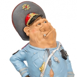 Комическая статуэтка «Полицейский»