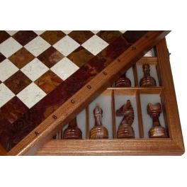 Шахматы каменные изысканные