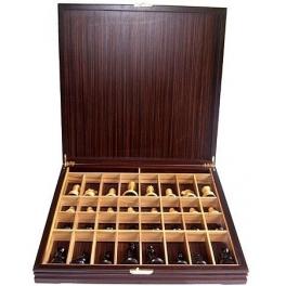 Шахматы классические деревянные с утяжелителем. Доска 47х47 см