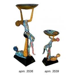Подсвечник «Пара акробатов» от Томаса Хоффмана, Германия.
