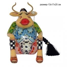Статуэтка корова «Эсмеральда» от Томаса Хоффмана, Германия.