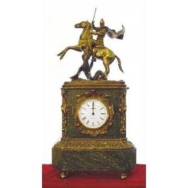 Часы из бронзы «Георгий Победоносец»