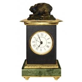 Часы из бронзы «Зайка»