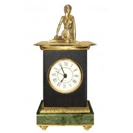 Часы из бронзы «Дева»