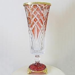 Хрустальная ваза для цветов