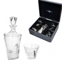 Набор графин и 6 стаканов для виски