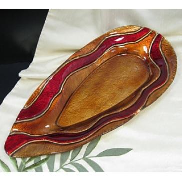 Блюдо из стекла Мурано