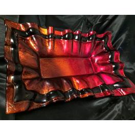 Блюдо из стекла Мурано, 32х50 см