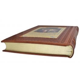 Подарочная книга в кожаном переплёте «Сокровищница мудрости»
