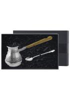 Набор для кофе: турка и ложка