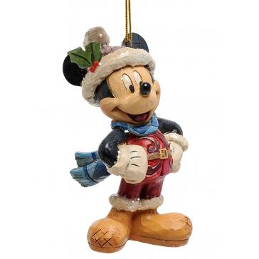 Новогодняя фигурка-подвеска «Микки Маус»