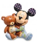 Фигурка «Микки Маус с медвежонком»