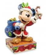 Фигурка «Микки Маус в костюме Санты»