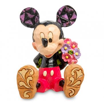 Яркая мини-фигурка «Микки Маус с цветами»