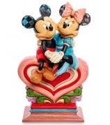 Фигурка Микки и Минни Маус «От сердца к сердцу»