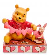 Фигурка Винни-Пух и Пятачок «С Днём Святого Валентина!»