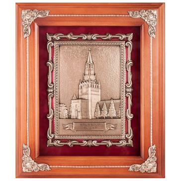 Интерьерная картина с объёмным изображением Спасской башни