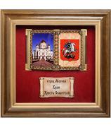 Панно «Москва. Храм Христа Спасителя»