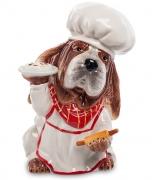 Статуэтка-копилка «Собака Повар»