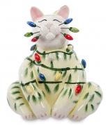 Статуэтка «Кот — Новый год»