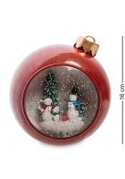 Музыкальный новогодний сувенир «Снежная семья» (с подсветкой)