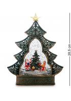 Новогодний сувенир «Наряжаем ёлочку» (с подсветкой)
