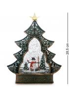 Новогодний сувенир «Снеговичок» (с подсветкой)