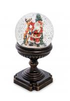 Новогодний сувенир «Санта с оленем» (с подсветкой)