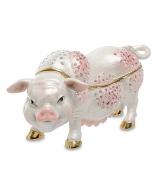 Сувенир-шкатулка «Свинка 2019»
