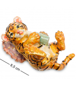 Сувенир-шкатулка «Тигрёнок на подушке»