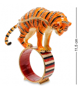 Сувенир-шкатулка «Тигр на кольце»