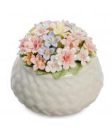 Фарфоровая композиция «Корзинка с цветами»