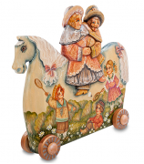 Фигурка «Пара на лошадке»