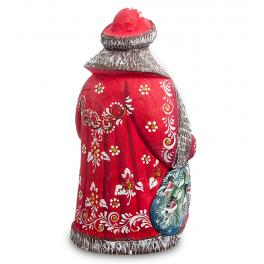 Резная фигурка Деда Мороза, высота 18 см