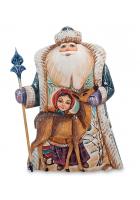 Фигура «Дед Мороз с оленем»