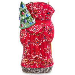 Резная фигура Дед Мороз «Рождество», производство Россия