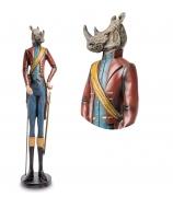 Статуэтка «Носорог с тростью»