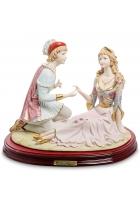 Фарфоровая статуэтка «Влюблённые»