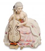 Фарфоровая статуэтка «Дама с виолончелью»