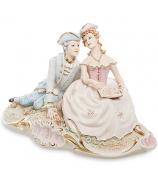 Фарфоровая статуэтка «Влюблённая пара»