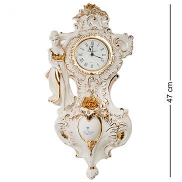 Настенные часы из фарфора