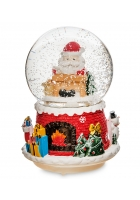 Снежный шар «Дед Мороз» (с подсветкой)