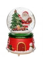 Снежный шар «С Новым годом!» (с подсветкой)