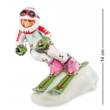 Статуэтка «Горные лыжи», комические сувениры из коллекции Warrena Stratforda