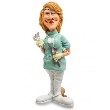 Оригинальная статуэтка «Стоматолог-женщина»